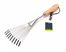 RHS Burgon and Ball shrub rake