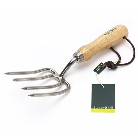 RHS Burgon and Ball round tine fork