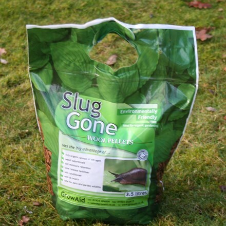 Slug gone wool pellets