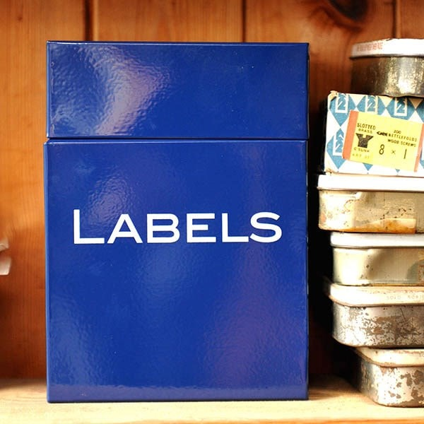 Labels box