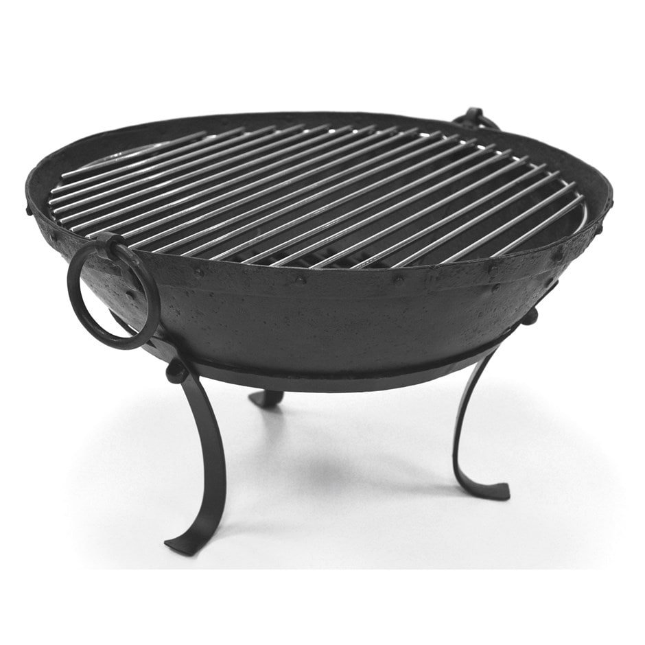 Buy Small Indian fire pit bowl with stainless steel ...