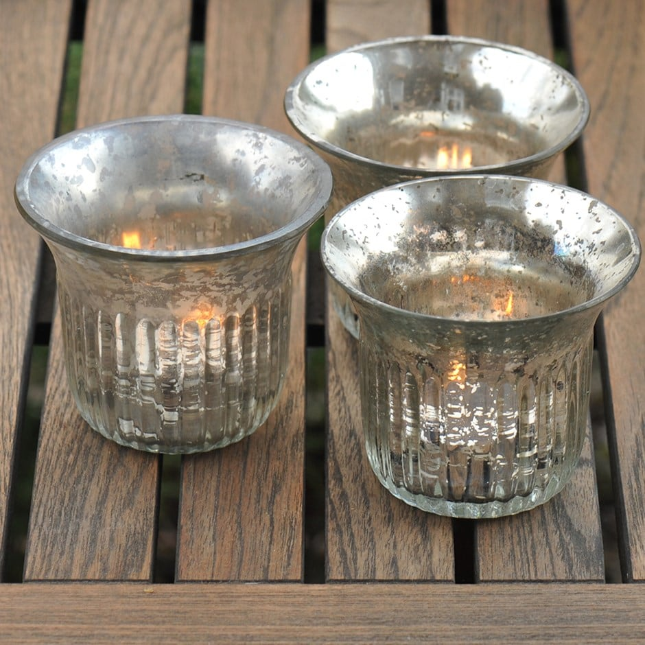 Buy Vintage Tea Light Holders Delivery By Waitrose Garden