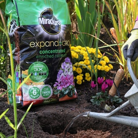 Miracle-Gro expand 'n' gro compost
