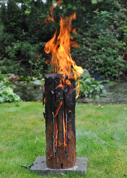 Party fire log