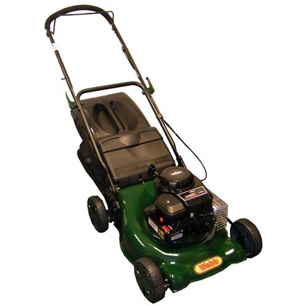 Webb WER18HP steel deck petrol rotary mower