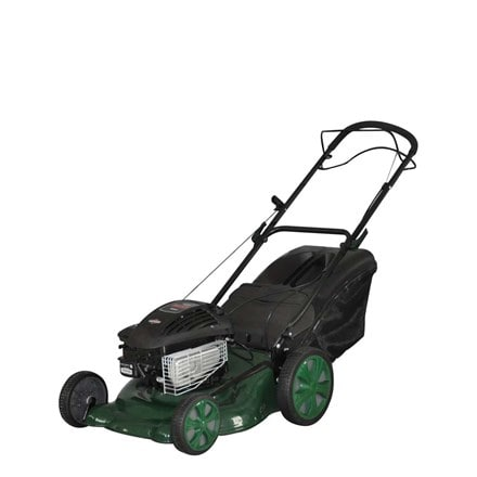 Webb self propelled steel deck high wheel mower WER18HW