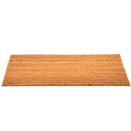 Plain patio doormat