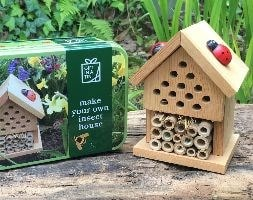 Make your own insect house gift set