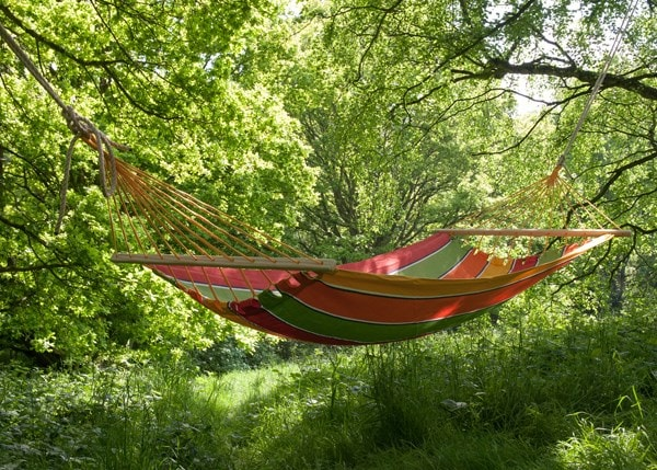 Swing hammock with bars - tutti frutti