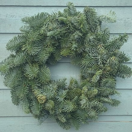 Natural fir wreath