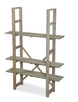 Tall adjustable shelving unit