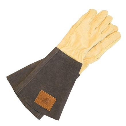 Haws ladies leather gauntlet gloves