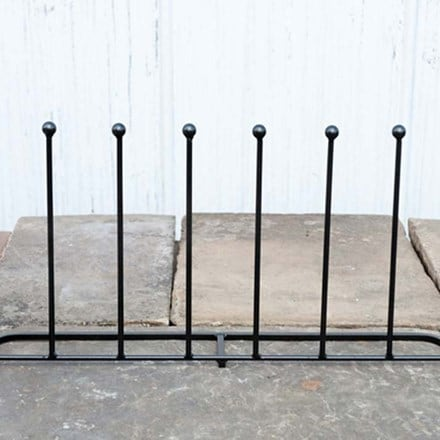 Four pair long boot rack