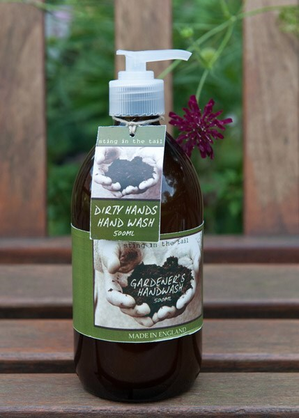 Dirty hands olive and lavender handwash
