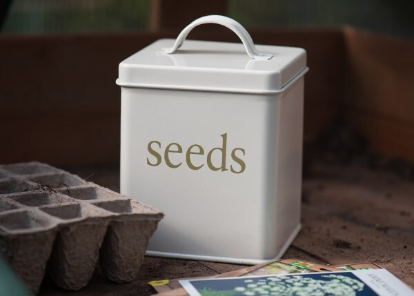 Waitrose powder coated seed box