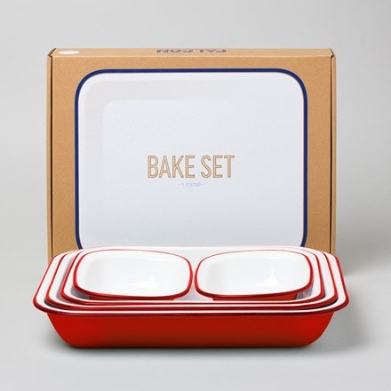 Preparation cooking set