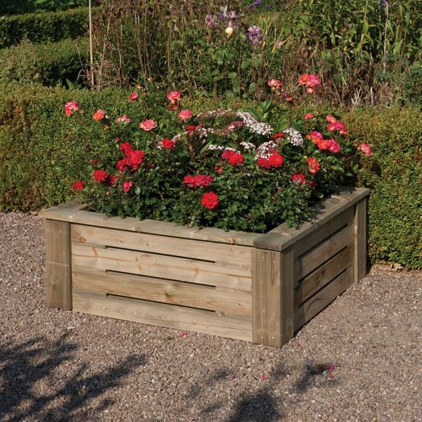 Raised planter