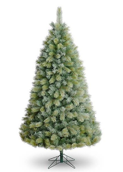Frosted breckenridge artificial Christmas tree