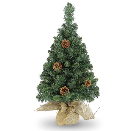 Parkerview pine small artificial Christmas tree
