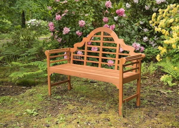 Buy Lutyens Style Bench Natural