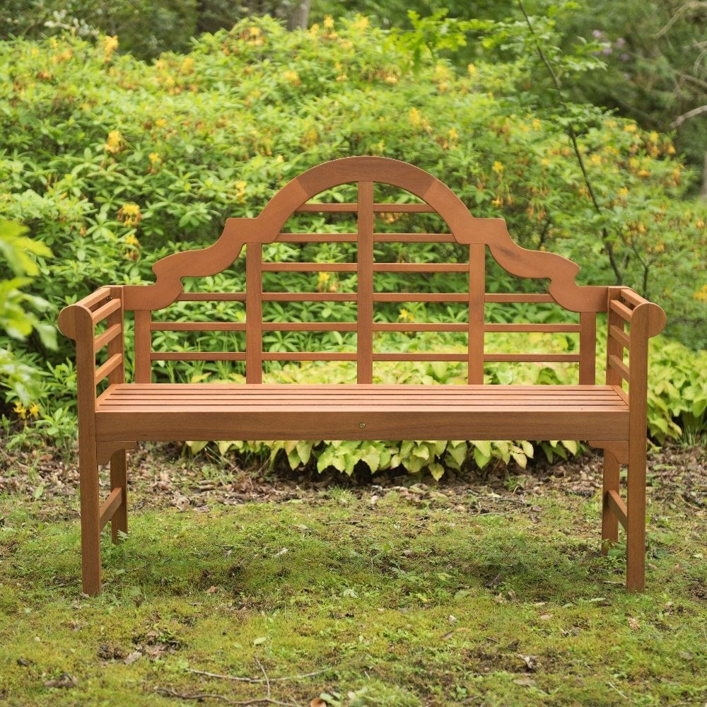 Buy Lutyens Style Bench Natural Delivery By Waitrose Garden