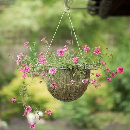 Deep hanging basket