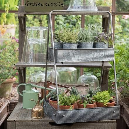 Portable plant caddy