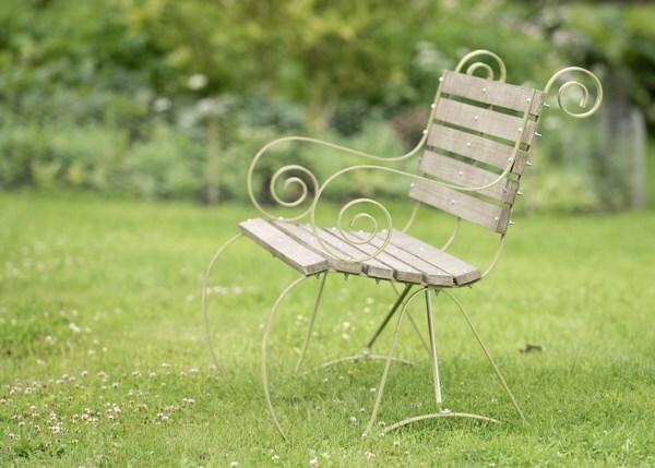 Montpellier bench - leaf green