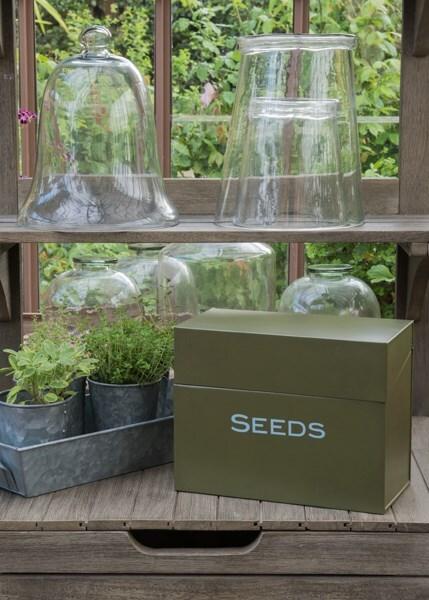 Calendar seed storage box
