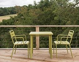 2 Seat Florence dining set - green