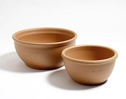 Terracotta bulb bowl