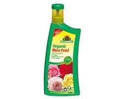 Organic rose feed