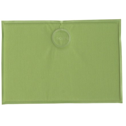 Rectangle magnetic seat pad - green