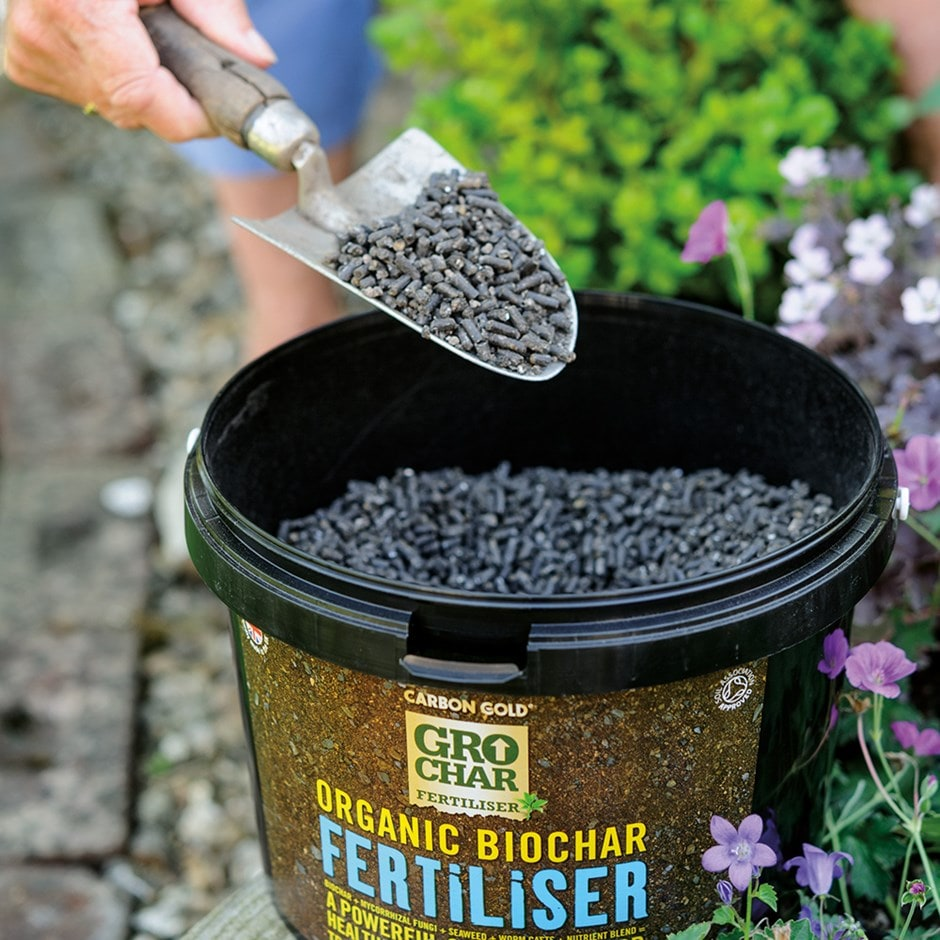 Carbon Gold organic grochar fertiliser