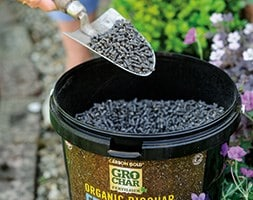 Carbon Gold organic grochar fertiliser