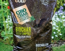 Carbon Gold biochar seed compost