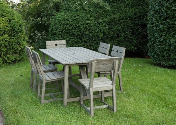 Oban 6 seat dining set
