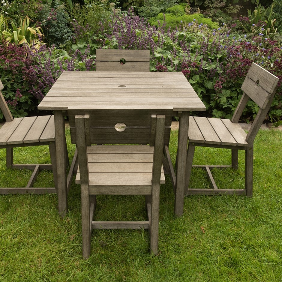 Buy Oban 4 seat square dining set: Delivery by Waitrose Garden in ...