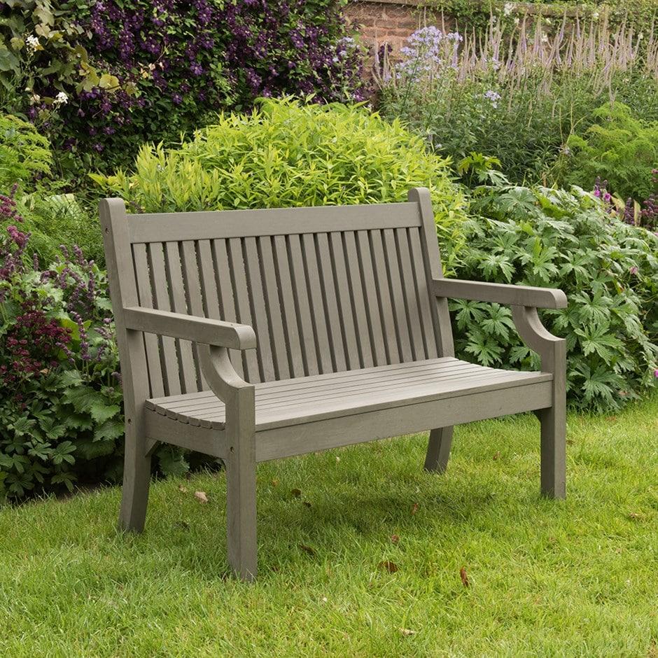 Milton bench grey