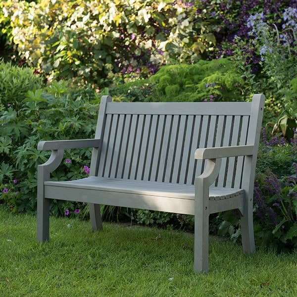 Milton bench grey