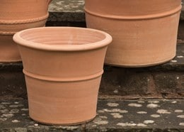 Monachou terracotta pot