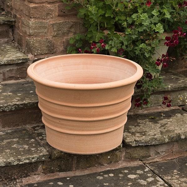 Monachou fardipati terracotta pot