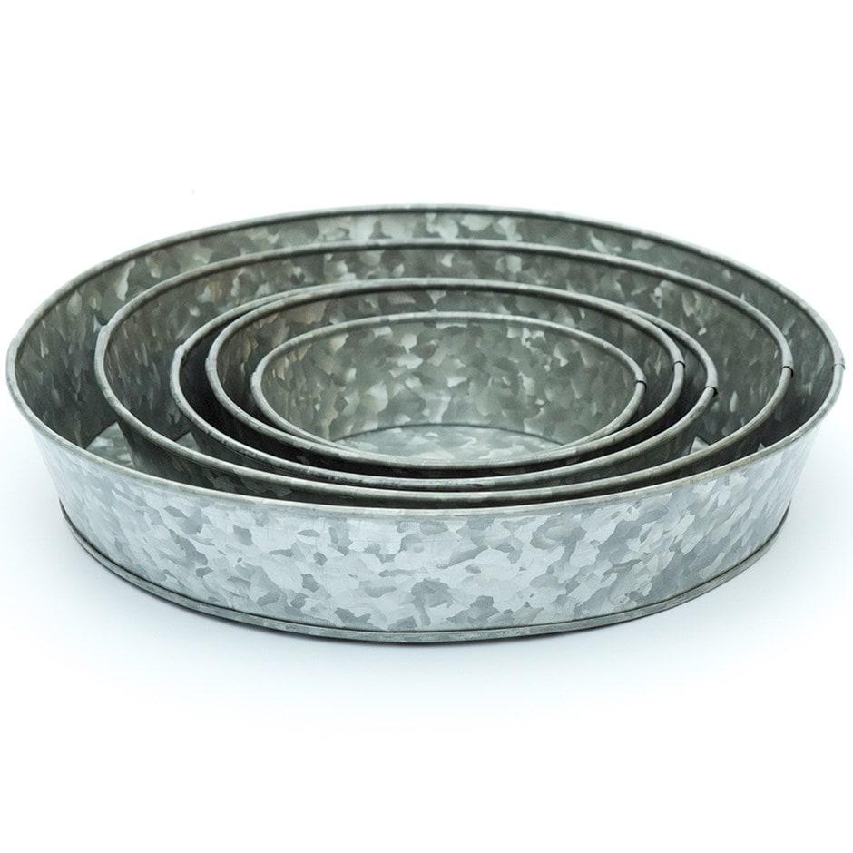 Galvanised tray