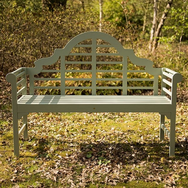 Lutyens bench - seagrass