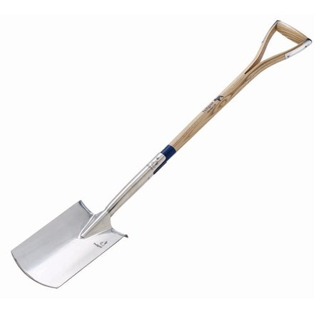 Pedigree treaded digging spade - long