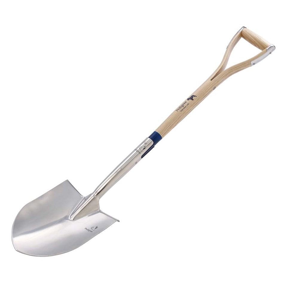Pedigree round point spade