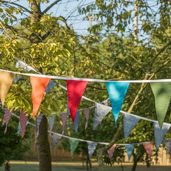 Fabric bunting - summer fiesta