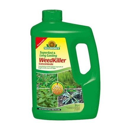Superfast and long lasting weedkiller