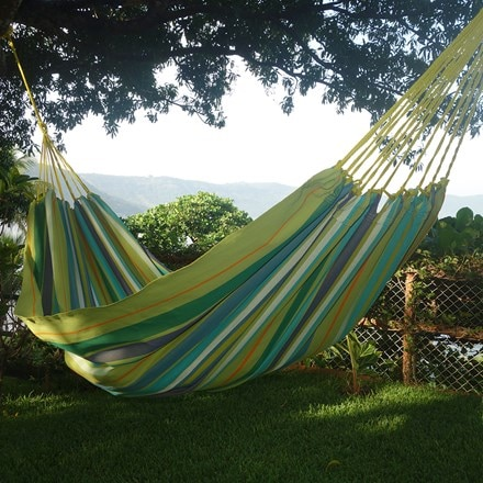 Swing hammock - lime