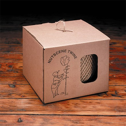 Twine dispensing box